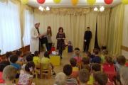В детский сад приехали сотрудники зоопарка Дворца творчества детей и молодежи